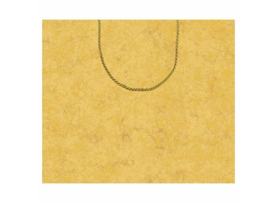 Antique Gold Large Gift Bag - 1 Each