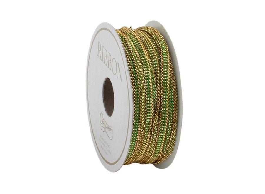 Emerald Bracelet Unwired Ribbon - 10 Yard Spool