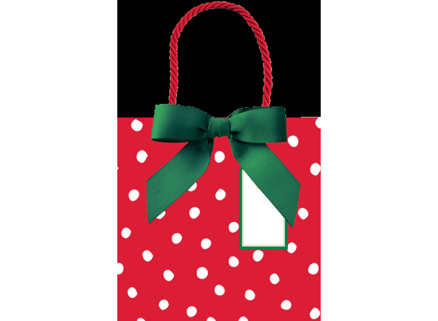 Painted Dots Small Gift Bag - 1 Each