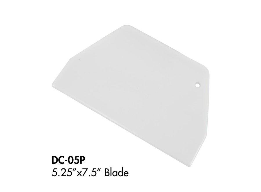 """Dough cutter plastic 7 7/8"""" x 5 1/8"""""""