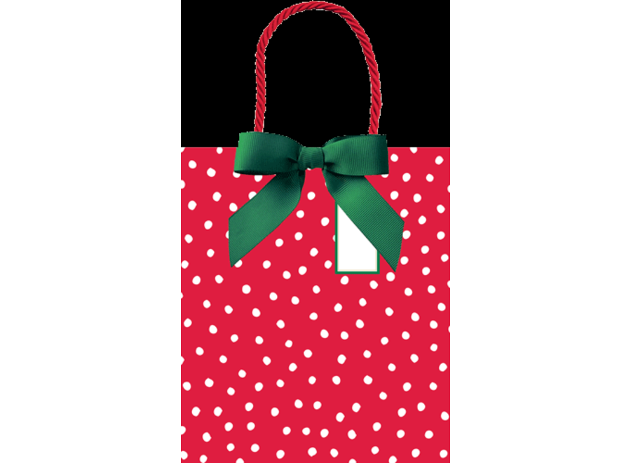 Painted Dots Large Gift Bag - 1 Each