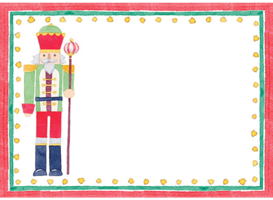 March Of The Nutcrackers Name Labels-Gallery