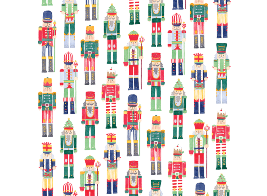 March Of The Nutcrackers Continuous Wrap Roll - 8 Ft