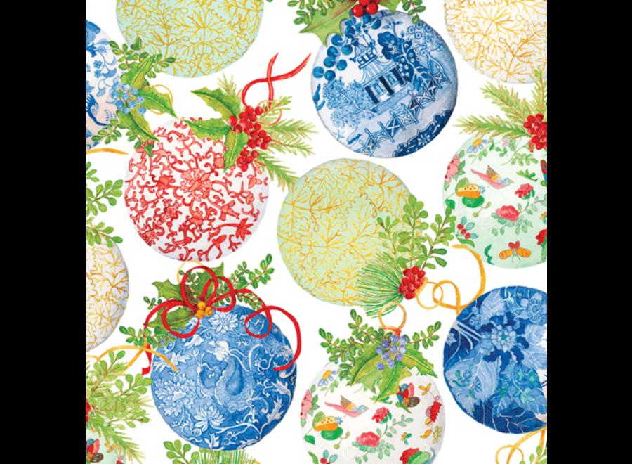 Porcelain Ornaments Continuous Wrap Roll - 8 Ft