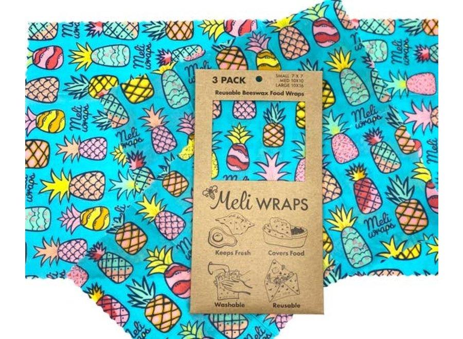 Meli Wraps 3 Pack
