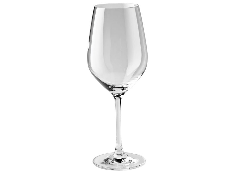 Predicat 6-PC Burgundy White Wine Glass Set 13.6 oz.