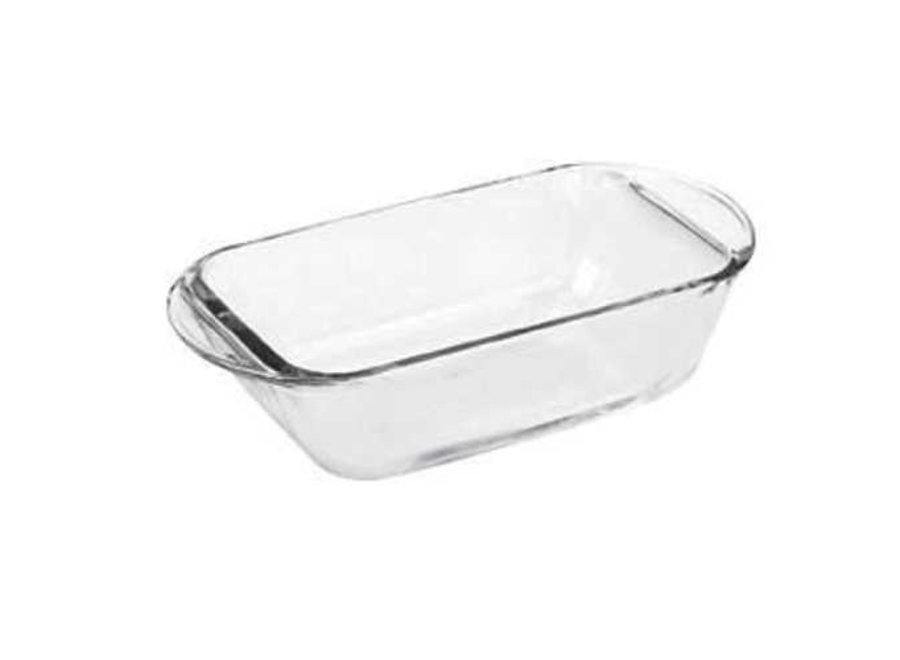 """Fire King Glass Loaf Pan 9"""" x 5"""""""