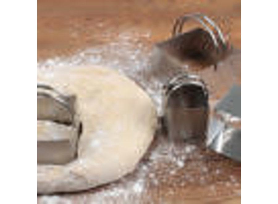 ENDURANCE® Square Biscuit Cutters Set of 4