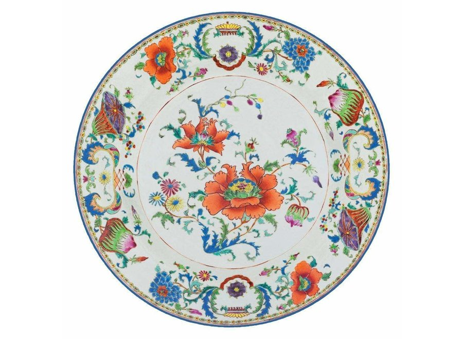 Chinese Ceramic Die-Cut Placemat - 1 Per Package