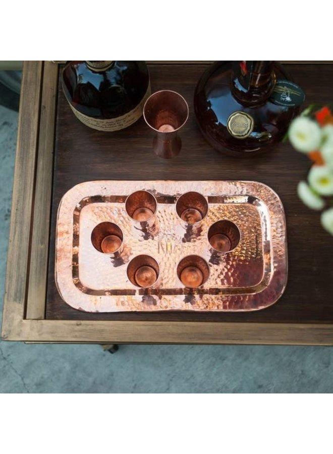 Charolita 12x7 Copper Tray