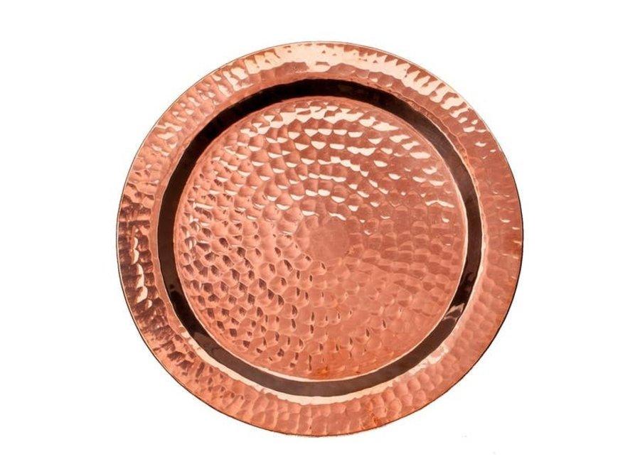 Napa Wine Copper Bottle Coaster