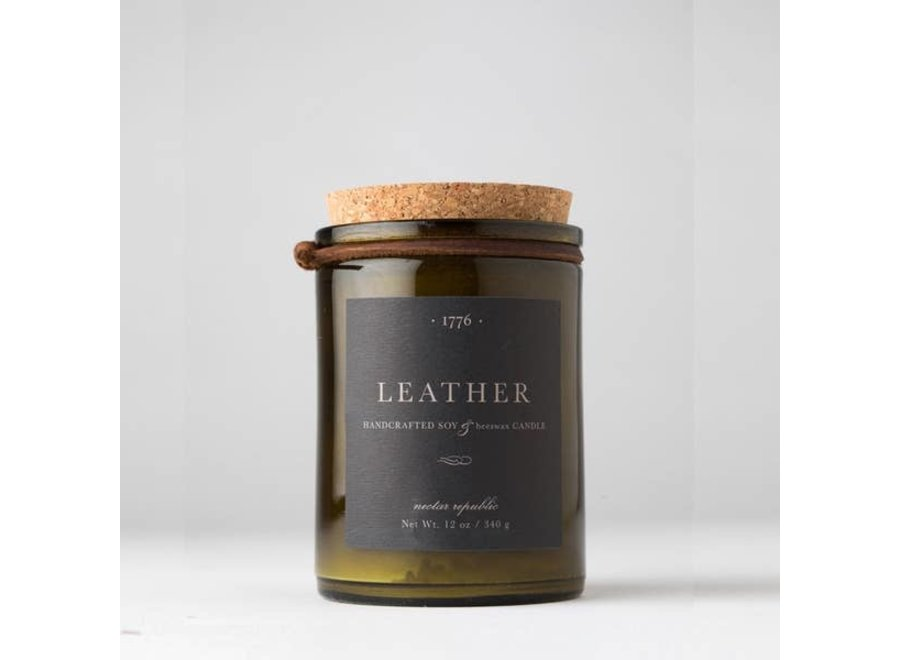 Leather : 1776 Candle