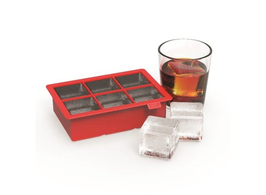 Colossal™: Red Ice Cube Tray