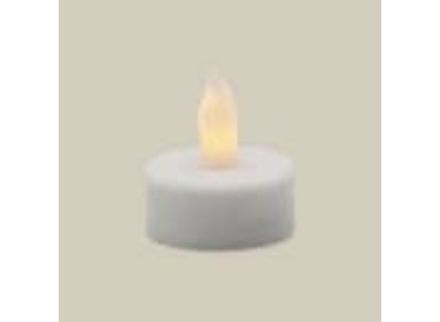 Matchless Candle Single LED Tealight Candle - Pack of 12
