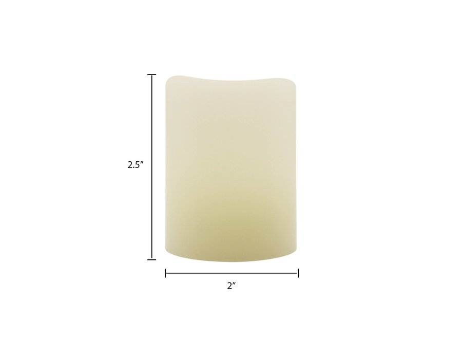 Matchless Candle Traditional Votive LED Candle - Pack of 3