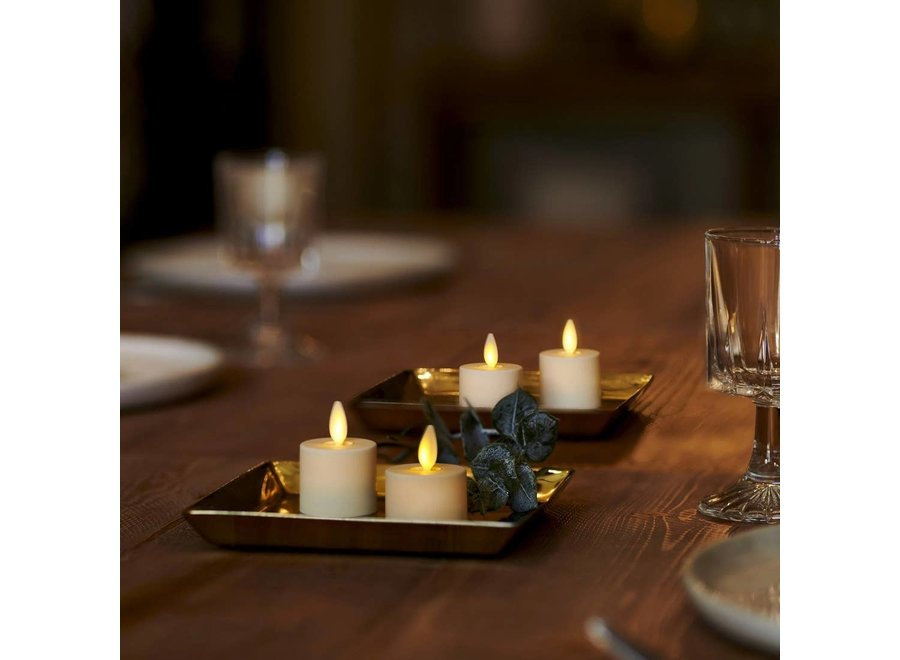 Luminara Real-Flame Effect Tealight LED Candle - Pack of 2