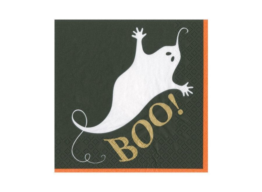 Boo Paper Luncheon Napkins - 20 Per Package