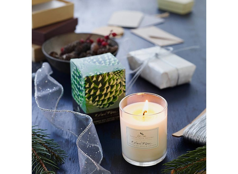 Roland Pine Small Votive Soy Candle 2.4 oz.