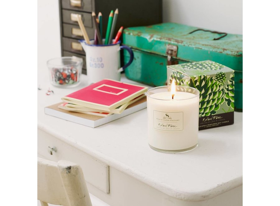 Roland Pine Single-Wick Soy Candle 9.5 oz.