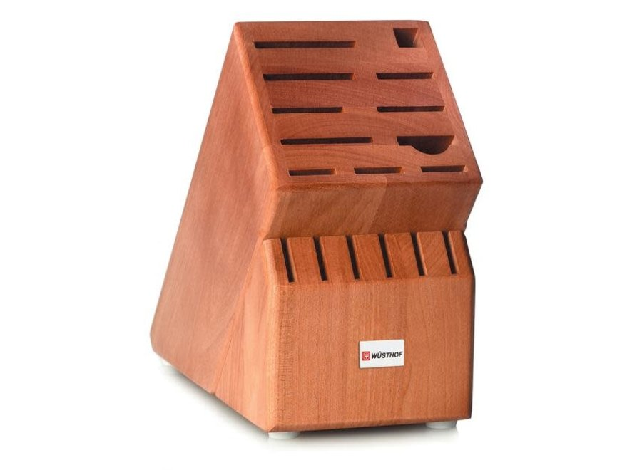 17 Slot Knife Block Cherry
