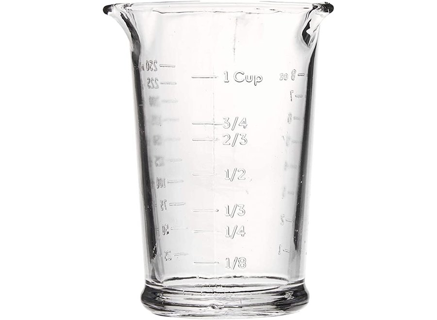 Anchor Hocking 8-ounce Triple Pour Measuring Cup, Clear, Set of 1