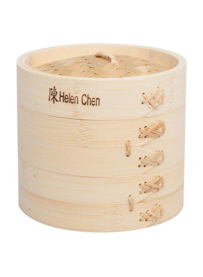 """6"""" 3 Piece Bamboo Steamer"""