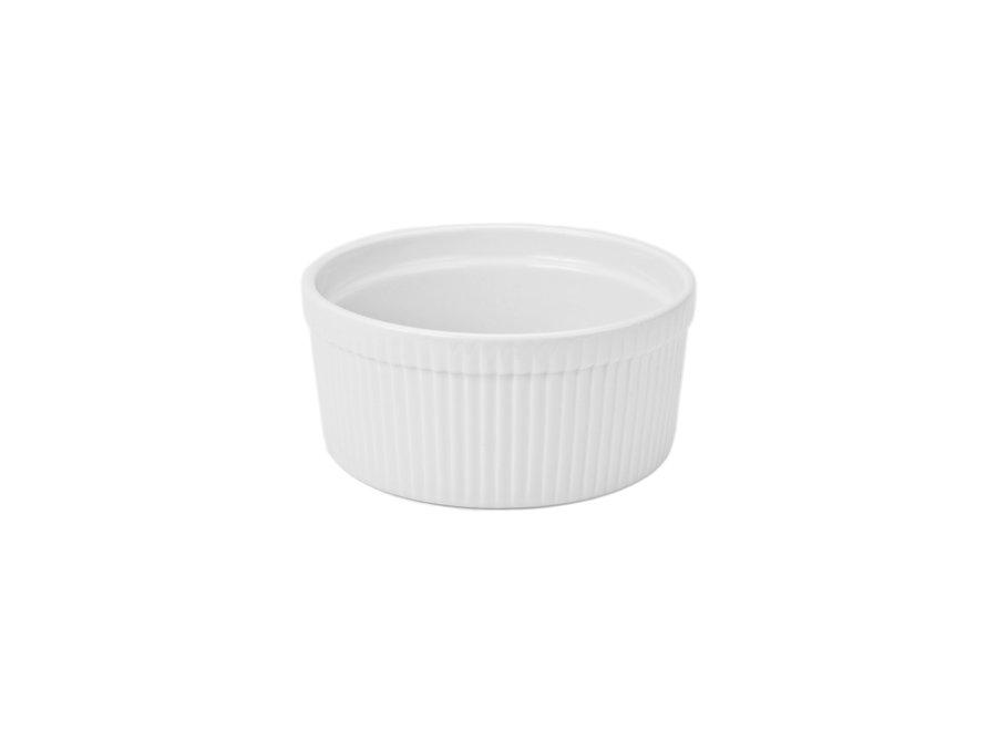 "Souffle 8.75"" / 2qt white"