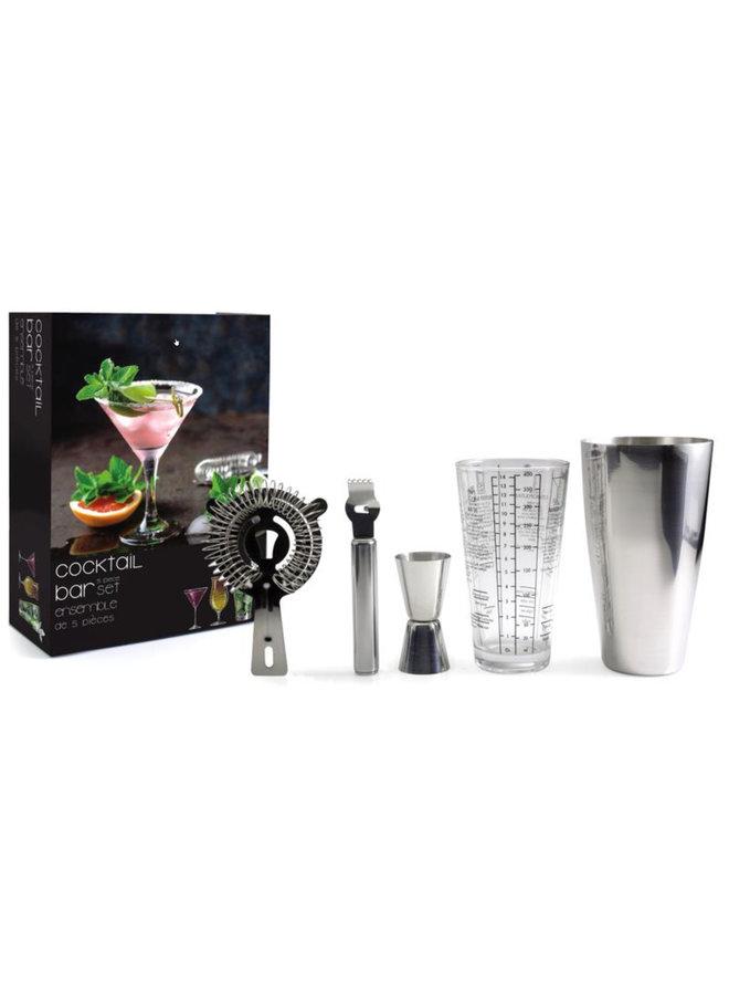 5 PC Cocktail Bar Set
