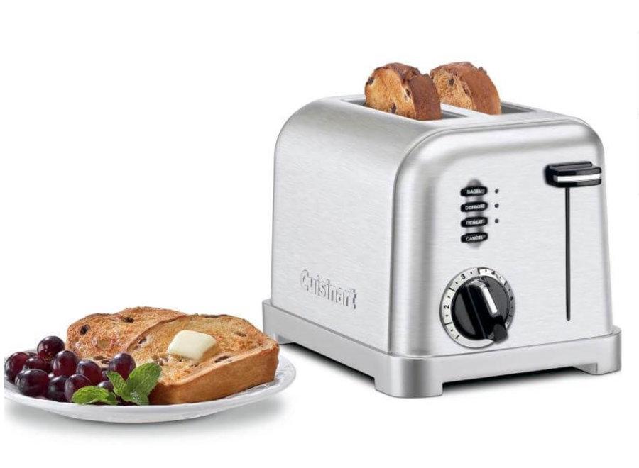 Toaster 2 slice Brushed Chrome