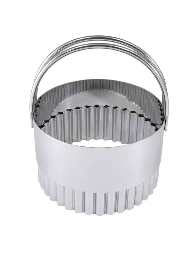 Biscuit Cutters Fluted 2.75