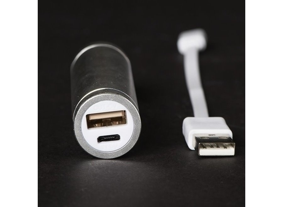 USB Rechargeable Power Bank w/ Micro USB Cable Included