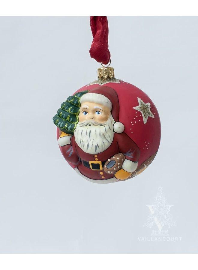 Jingle Balls™ Classic American Santa with Tree