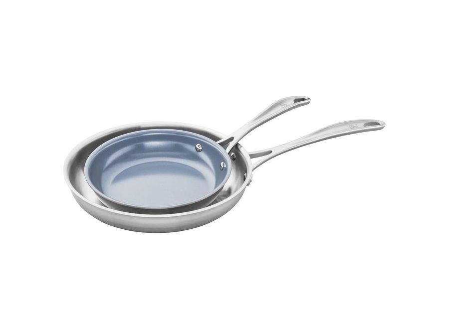 """Fry Pan 8"""" & 10"""" Thermolon Set"""