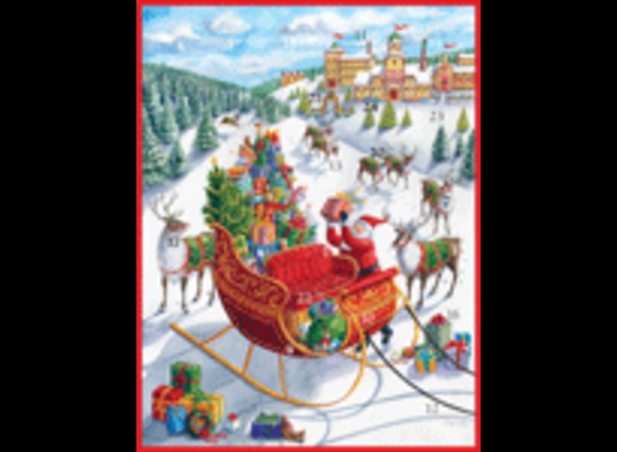 Advent Calendar Santa's Sleigh