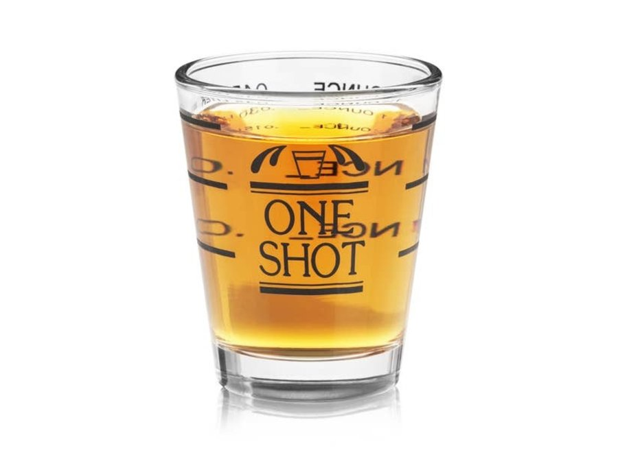 Bullseye Shot Glass