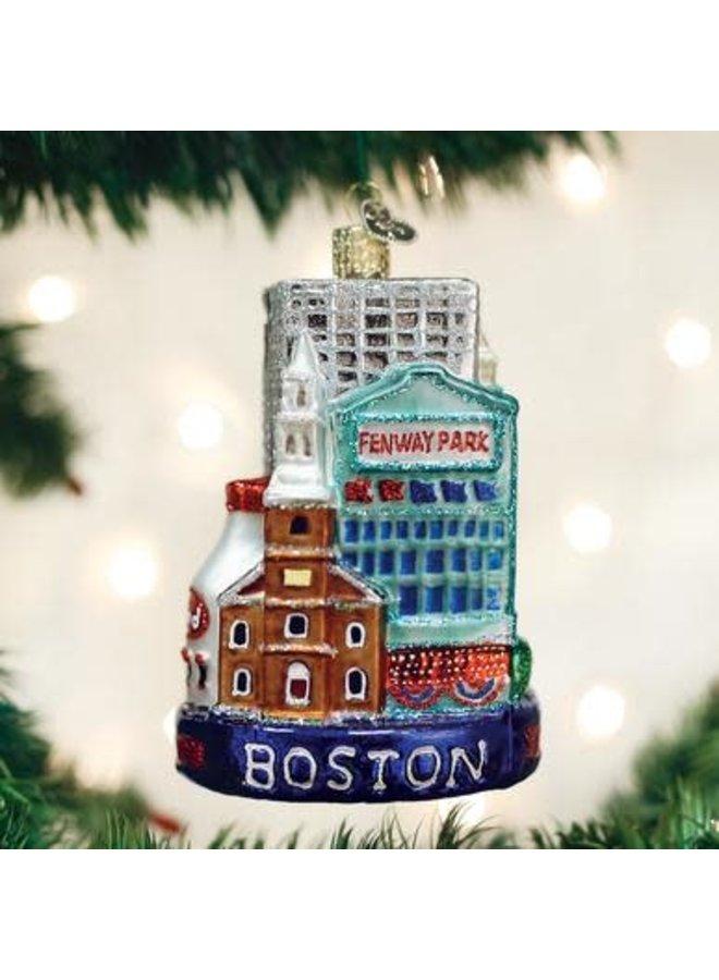 Boston City Ornament
