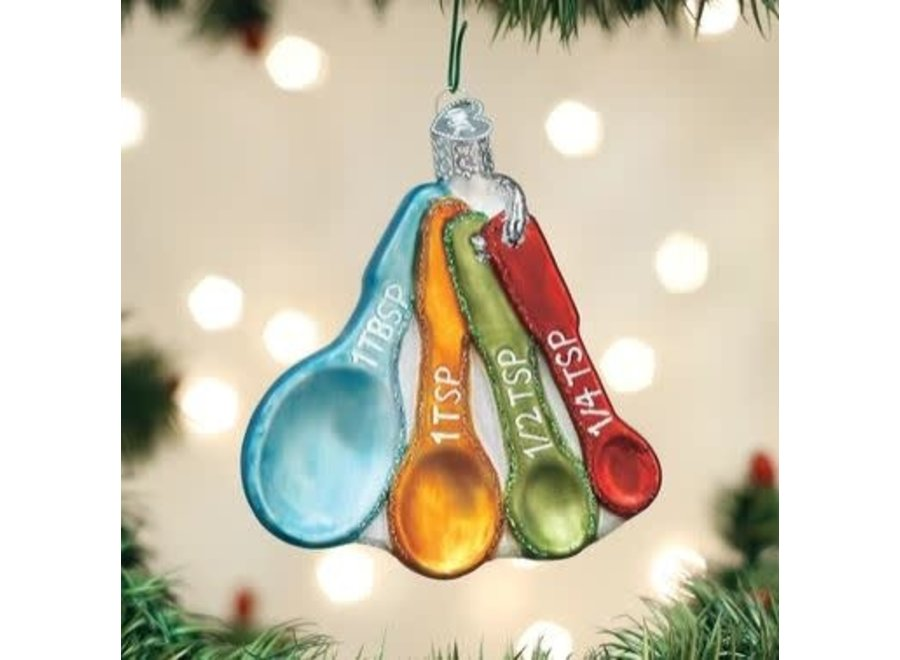 MEASURING SPOONS Ornament