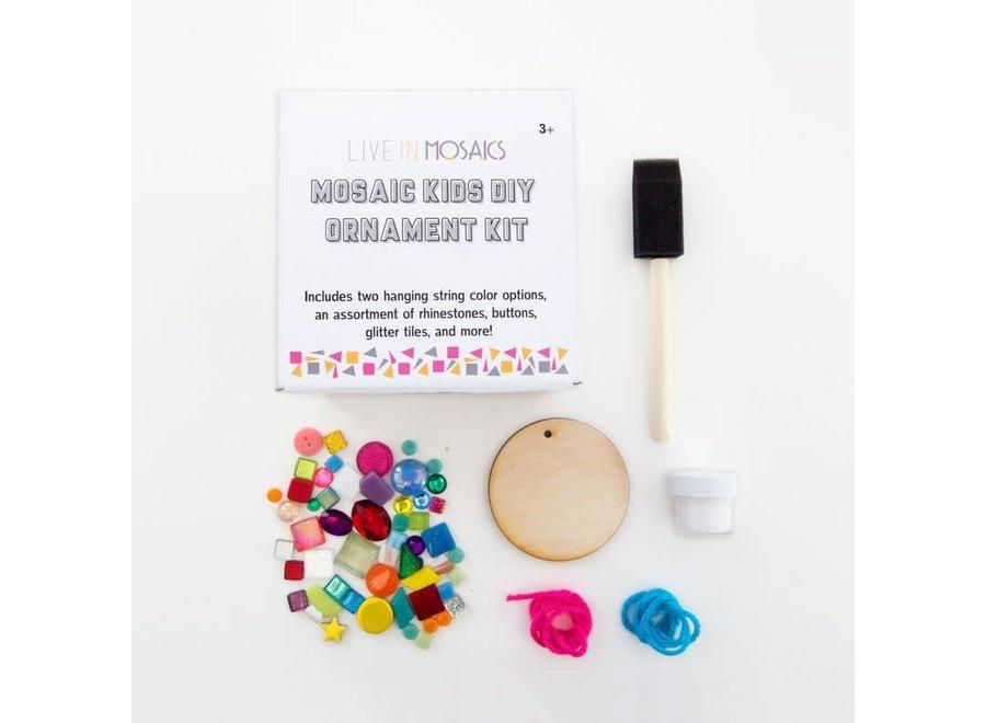 Mosaic Kids DIY Ornament Kit