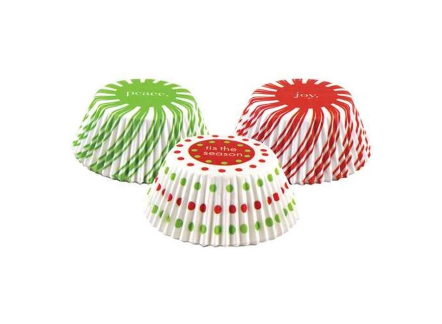 Christmas Pinwheel Baking Cup