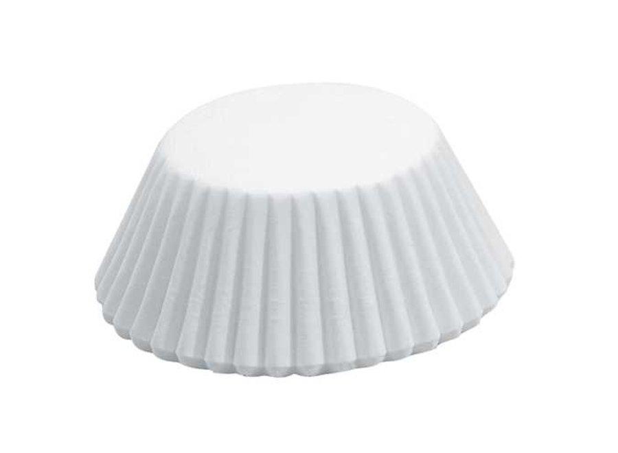 White Mini Baking Cup