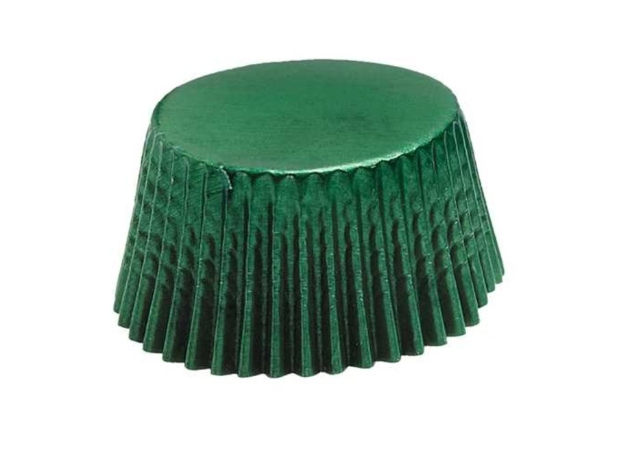 Green Mini Baking Cup
