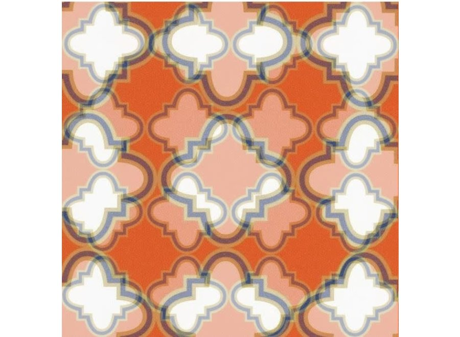 """Casablanca Gift Wrapping Paper in Coral - 30"""" x 5' Roll"""