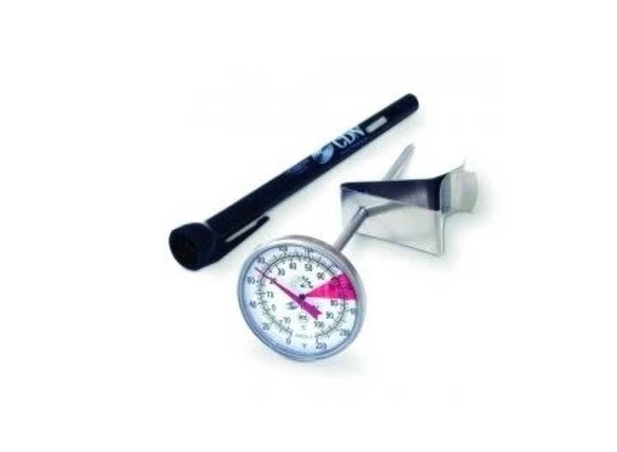 """Beverage & Frothing Thermometer 5"""" stem"""