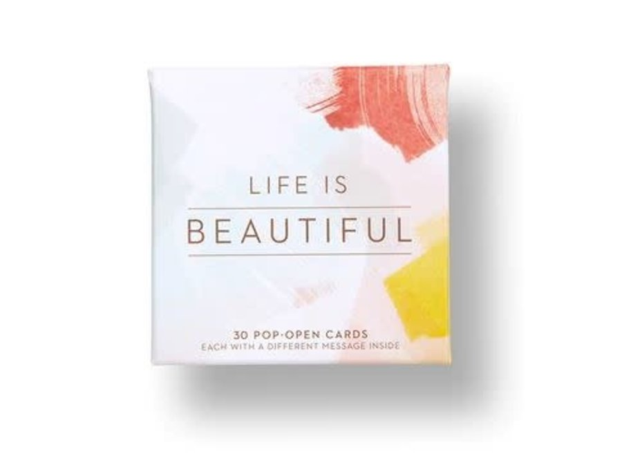 LIFE IS BEAUTIFUL ThoughtFulls Pop-Open Cards