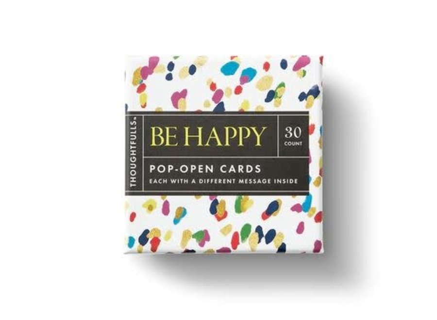 BE HAPPY ThoughtFulls Pop-Open Cards