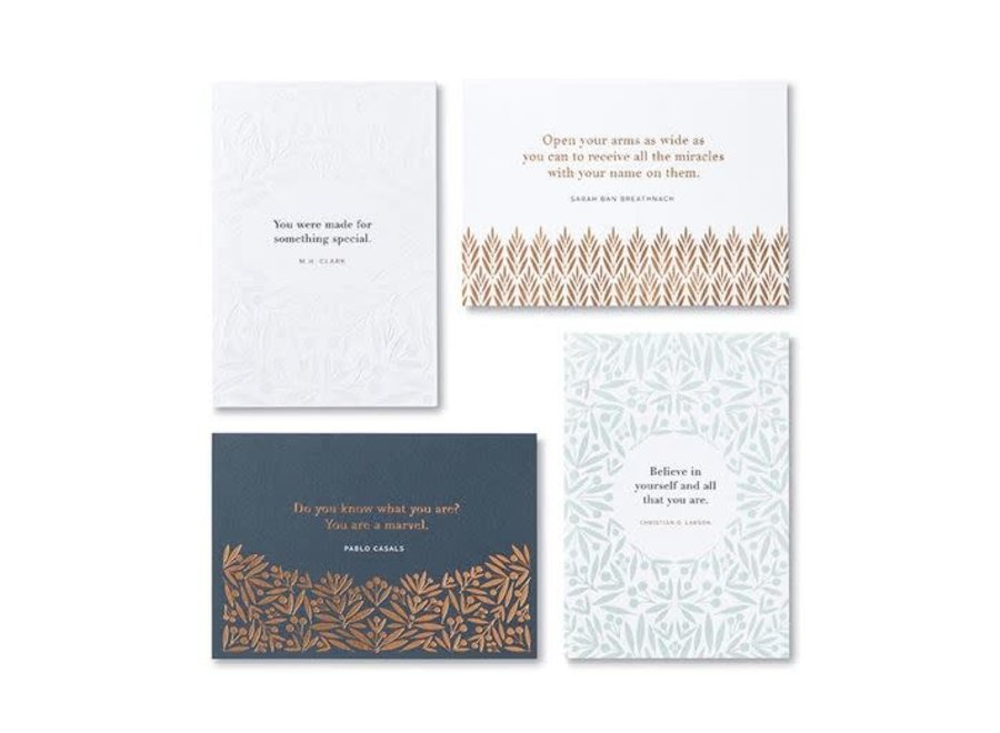 BELIEVE Boxed Note Card Set