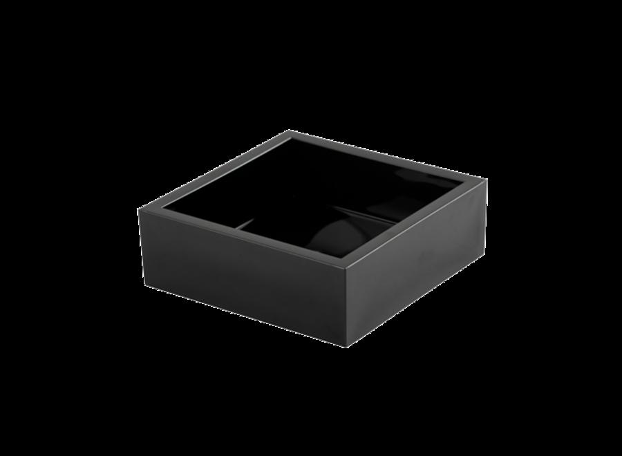 Acrylic Cocktail Napkin Holder in Black - 1 Each