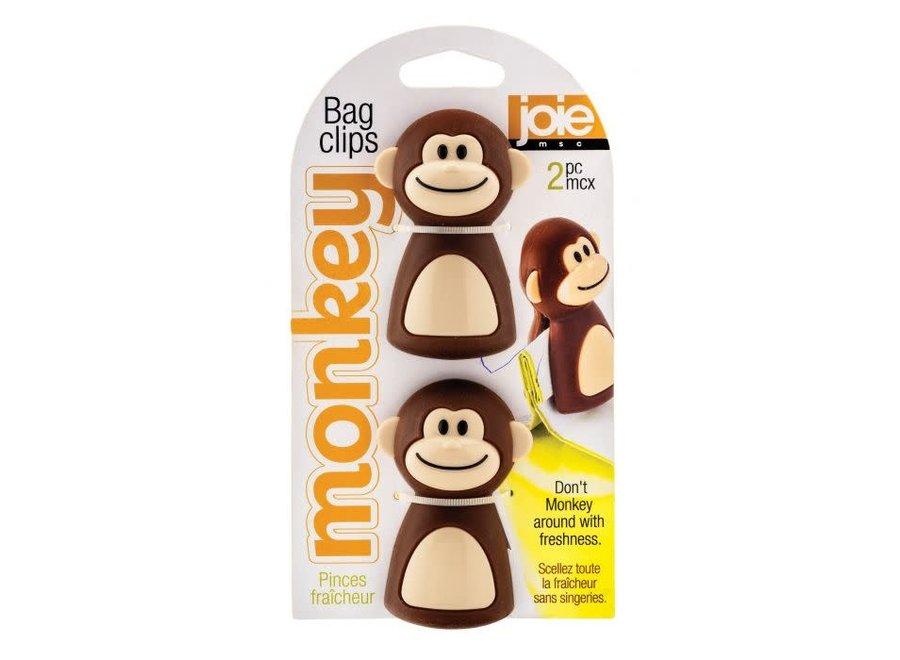 Joie Monkey Bag Clip, Set of 2