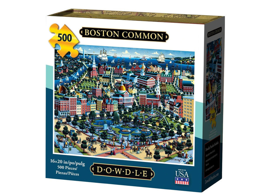 Boston Common 500 Piece Puzzle
