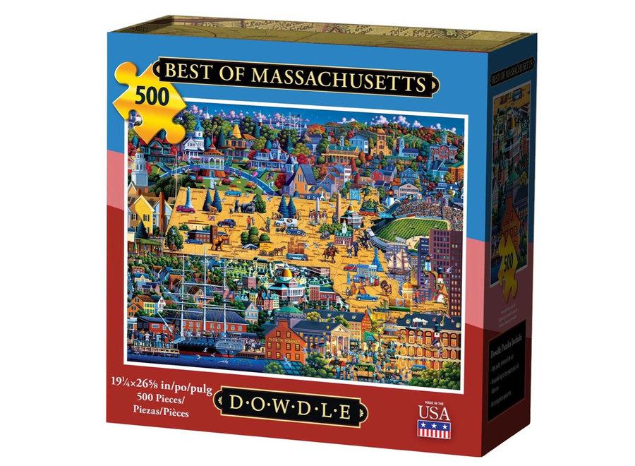 Best of Massachusetts 500 Piece Puzzle